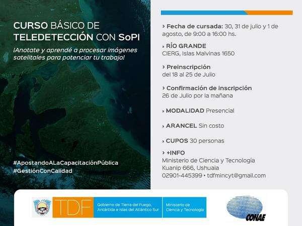Gobierno Abrio Las Inscripciones Para Capacitacion En Tecnologia Satelital Gobierno De Tierra Del Fuego